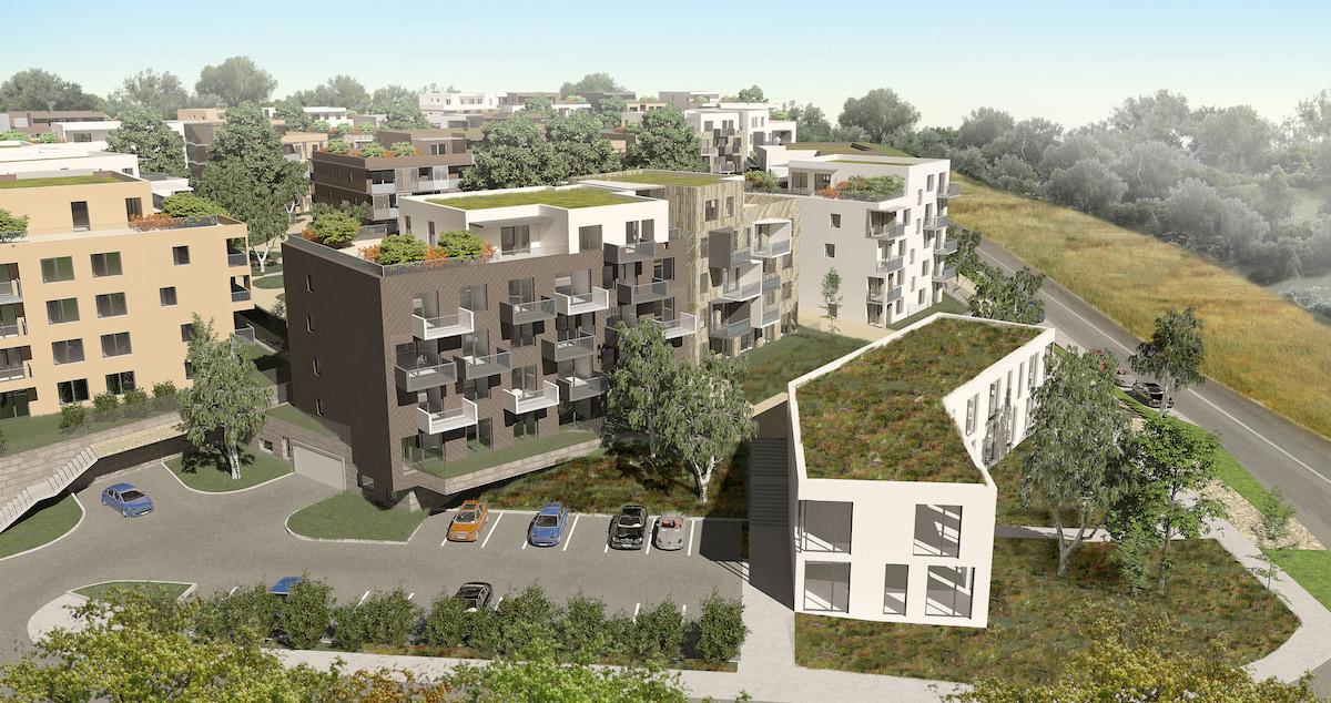 Bytový dom chce investor postaviť vZáhorskej Bystrici vzóne Krče.