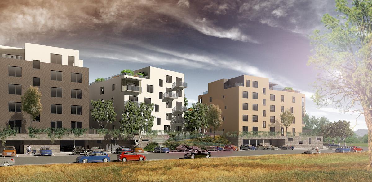 Vcelom projekte je navrhnutých 466 bytov.
