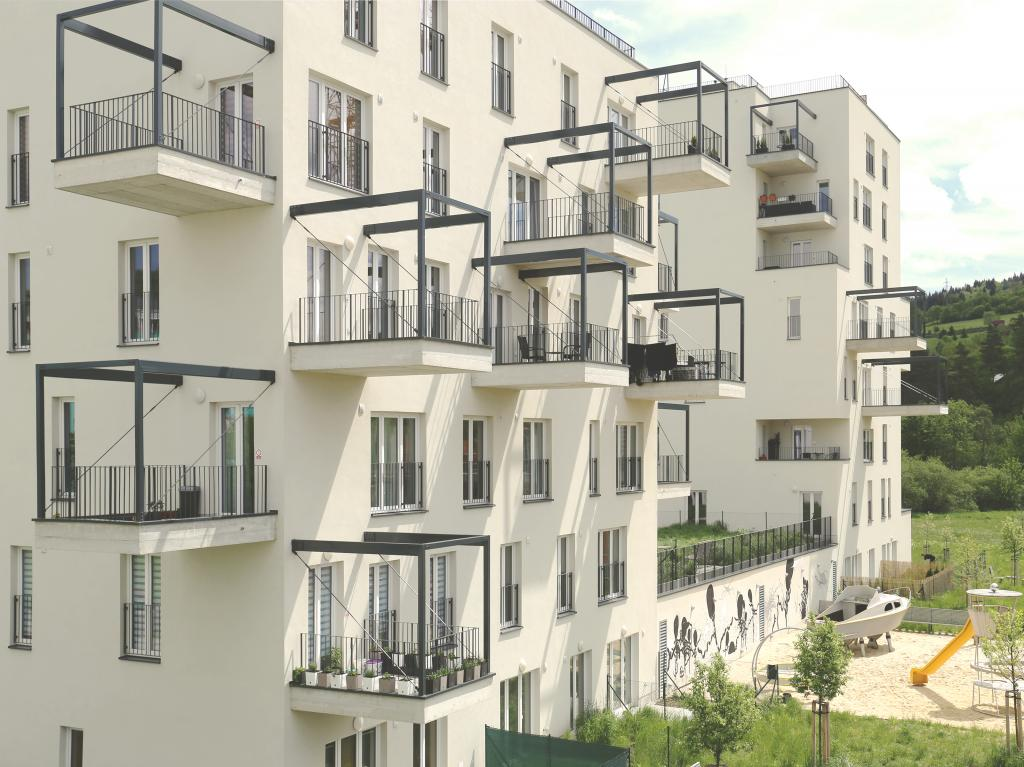 Bytové domy Kamence, Etapa 1.