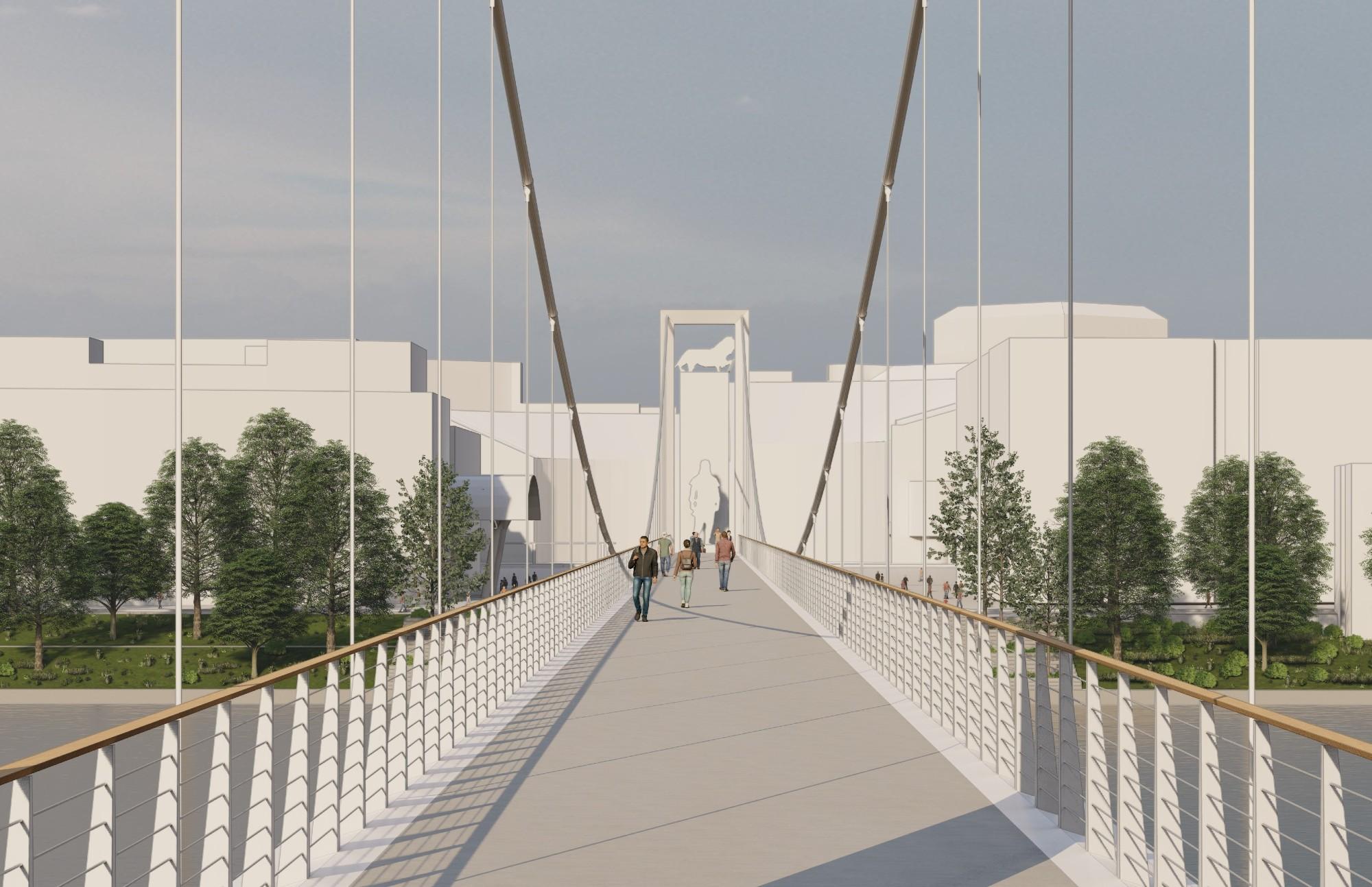 Oceneny promenadny most c 7 vizualizacia 2