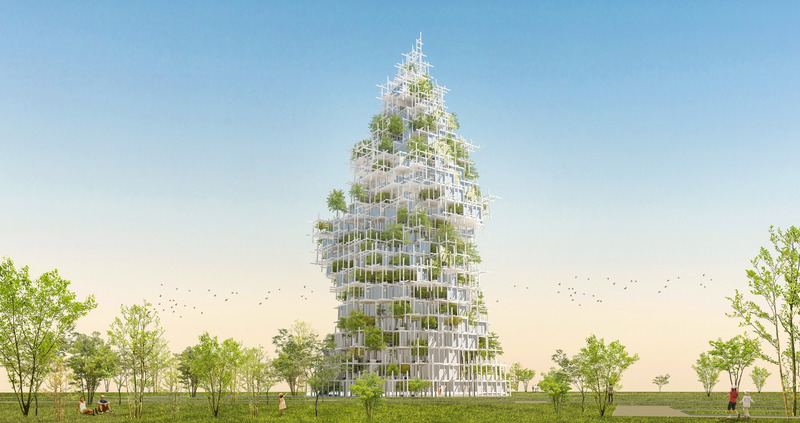 'Museum for Architecture + Residences' – Sou Fujimoto Architects