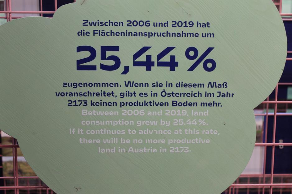 Výstava je ozvláštnená zaujímavými štatistikami a číslami súvisiacimi s pôdou a s ňou súvisiacimi krízami.