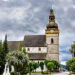 Evanjelický kostol v Štítniku v gotickom slohu je pôvodne trojloďovou bazilikou zo 14. a 15. storočia.