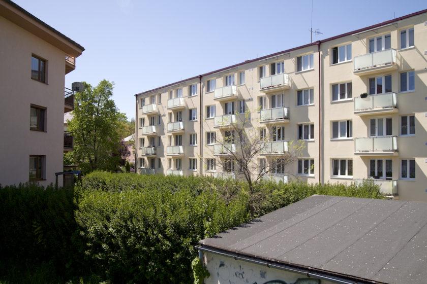 Obnova bytového domu v Trenčíne.