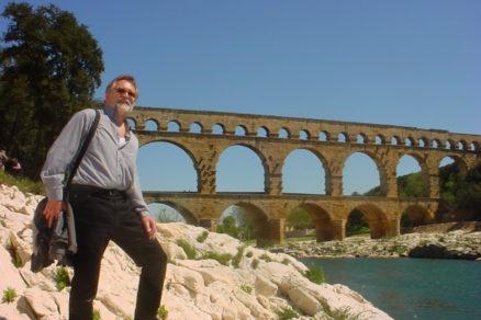 2000-ročný most Pont du Gard na juhu Francúzska – srdcová záležitosť prof. Ľ. Naďa