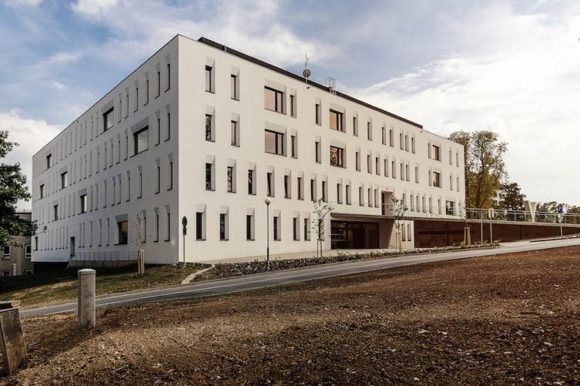 Prvá pasívna nemocničná budova v Česku.
