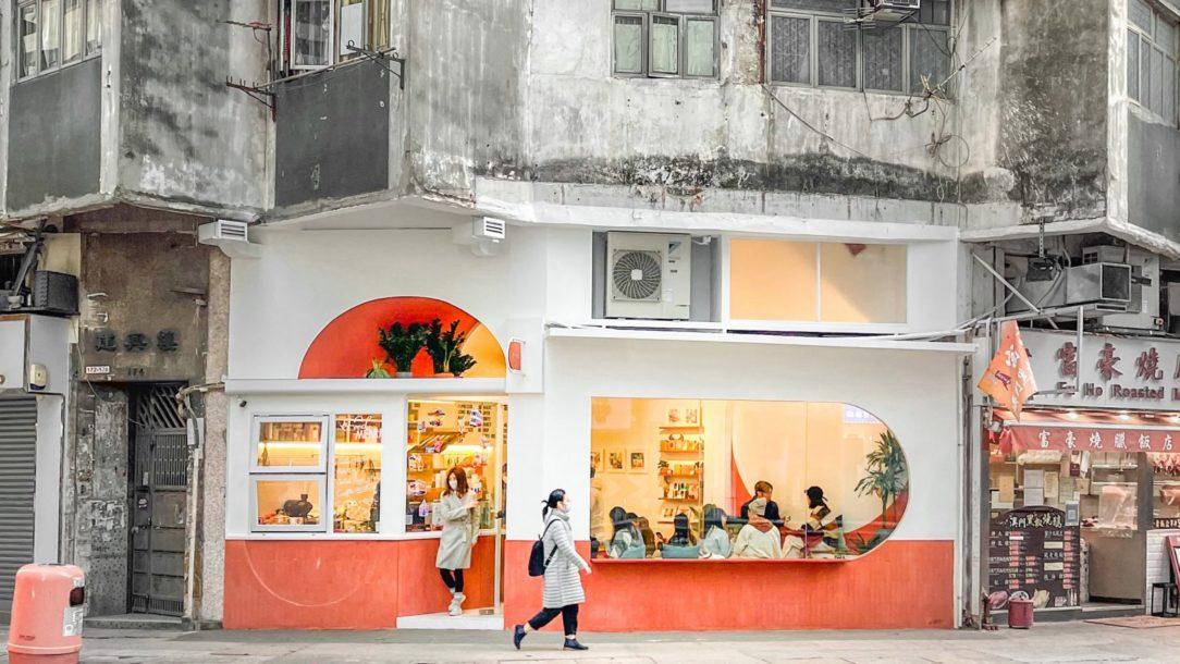 Kaviareň v Kong Kongu.