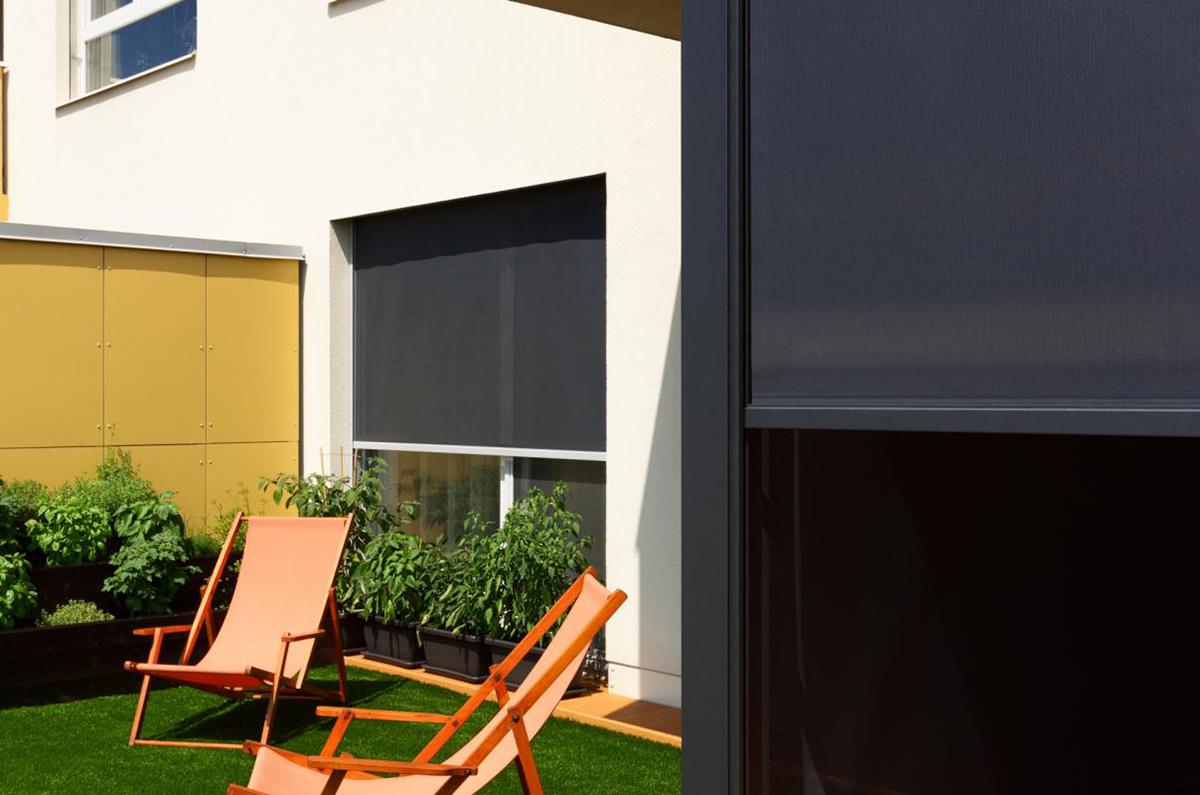Climax svisla fasadni clona Unirol