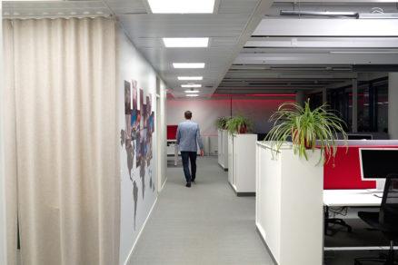 Helvar HQ ActiveAhead Corridor walking