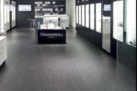 Prírodné linoleun Gerflor Lino Art Floor dekor 0083 Light Grey