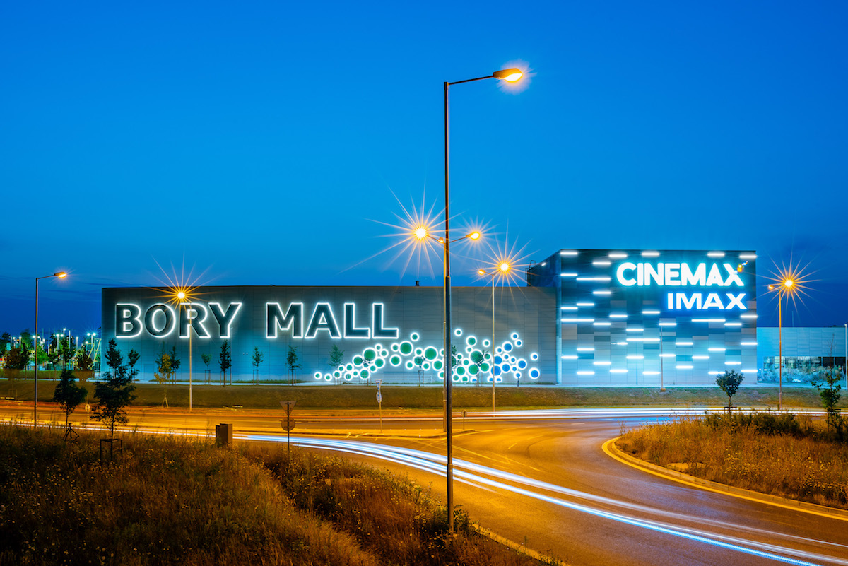 Nákupné centrum Bory Mall, Bratislava, 2014.
