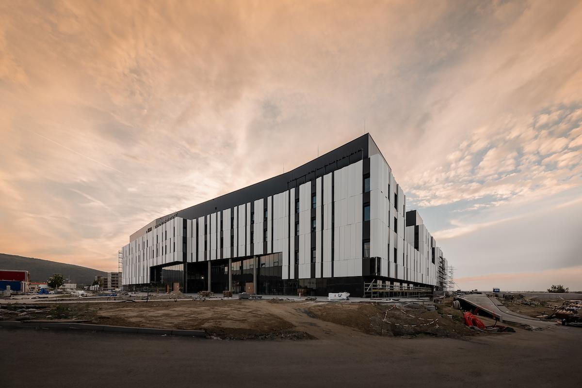 Nemocnica novej generácie Bory, Bratislava − vo výstavbe.