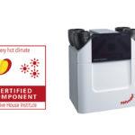 Zehnder ComfoAir Q certifikace Passive House