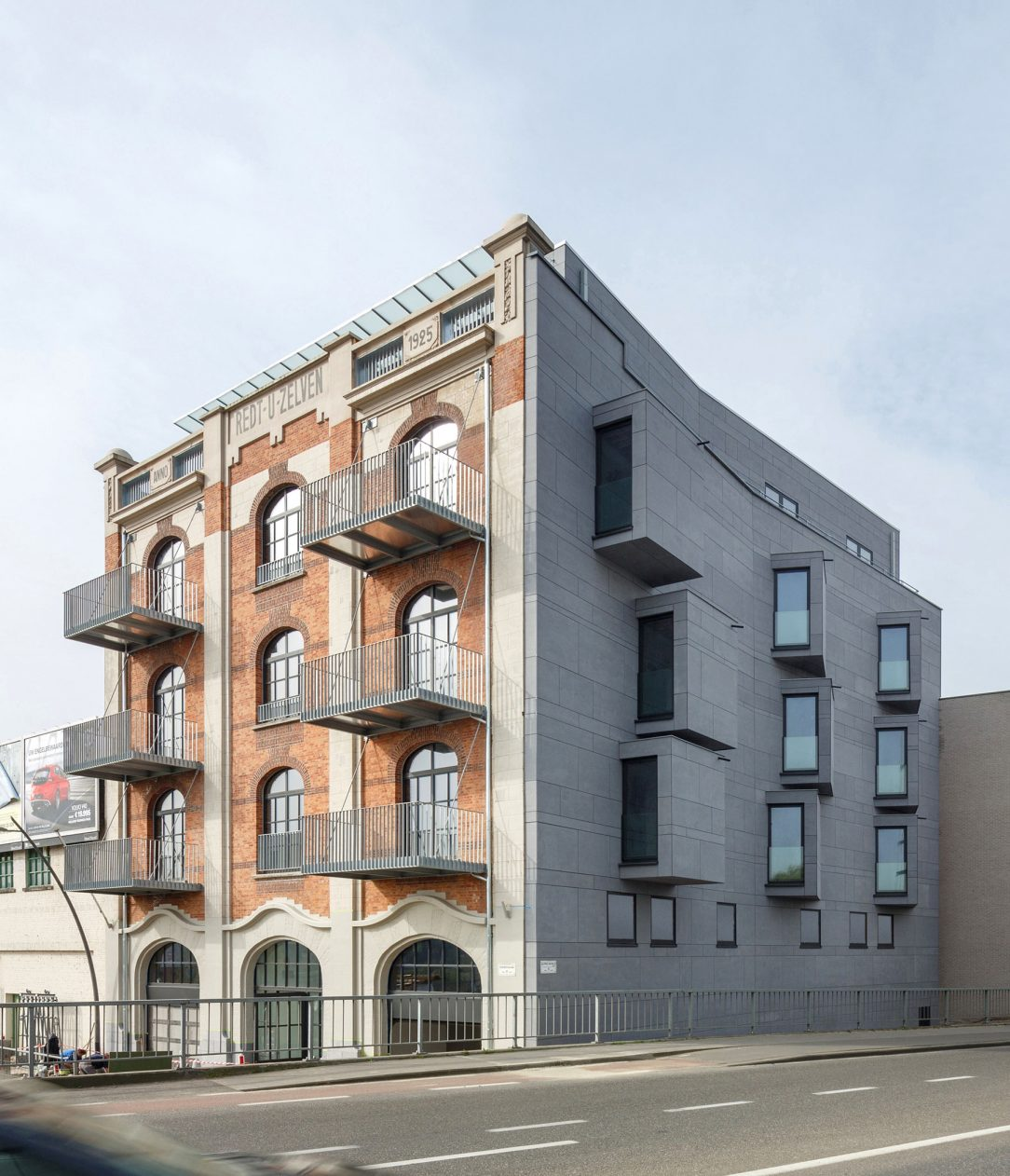 equitone facade panels housing renovation aalst 6