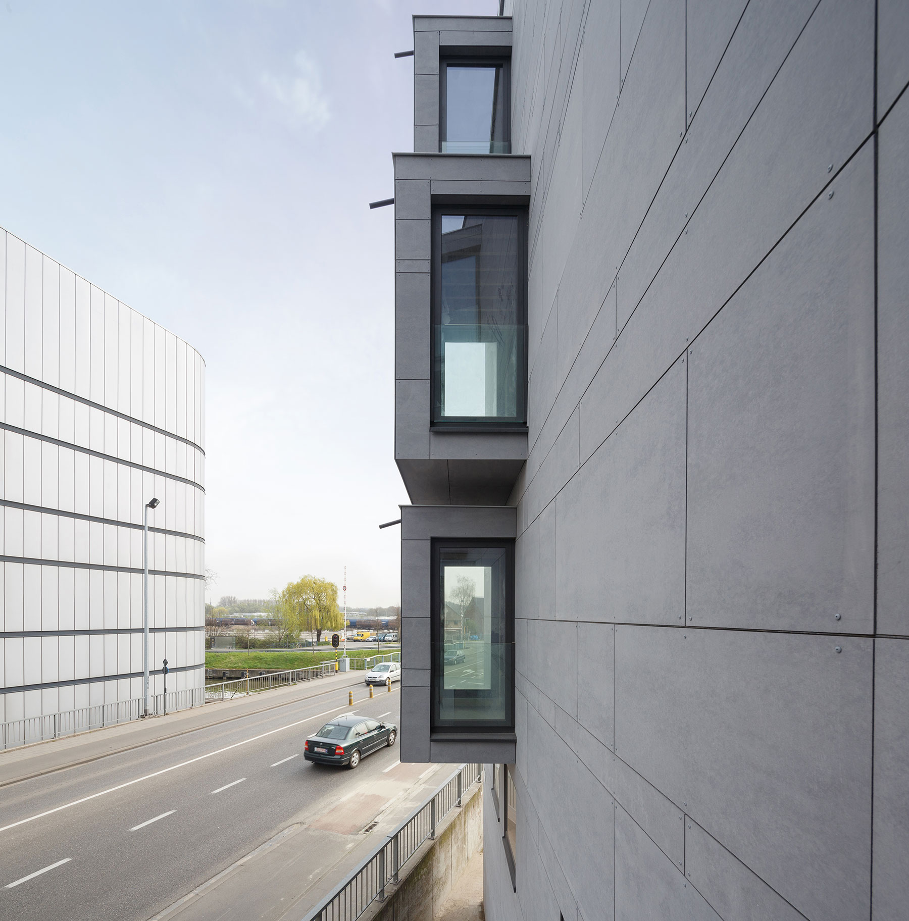 equitone facade panels housing renovation aalst 7