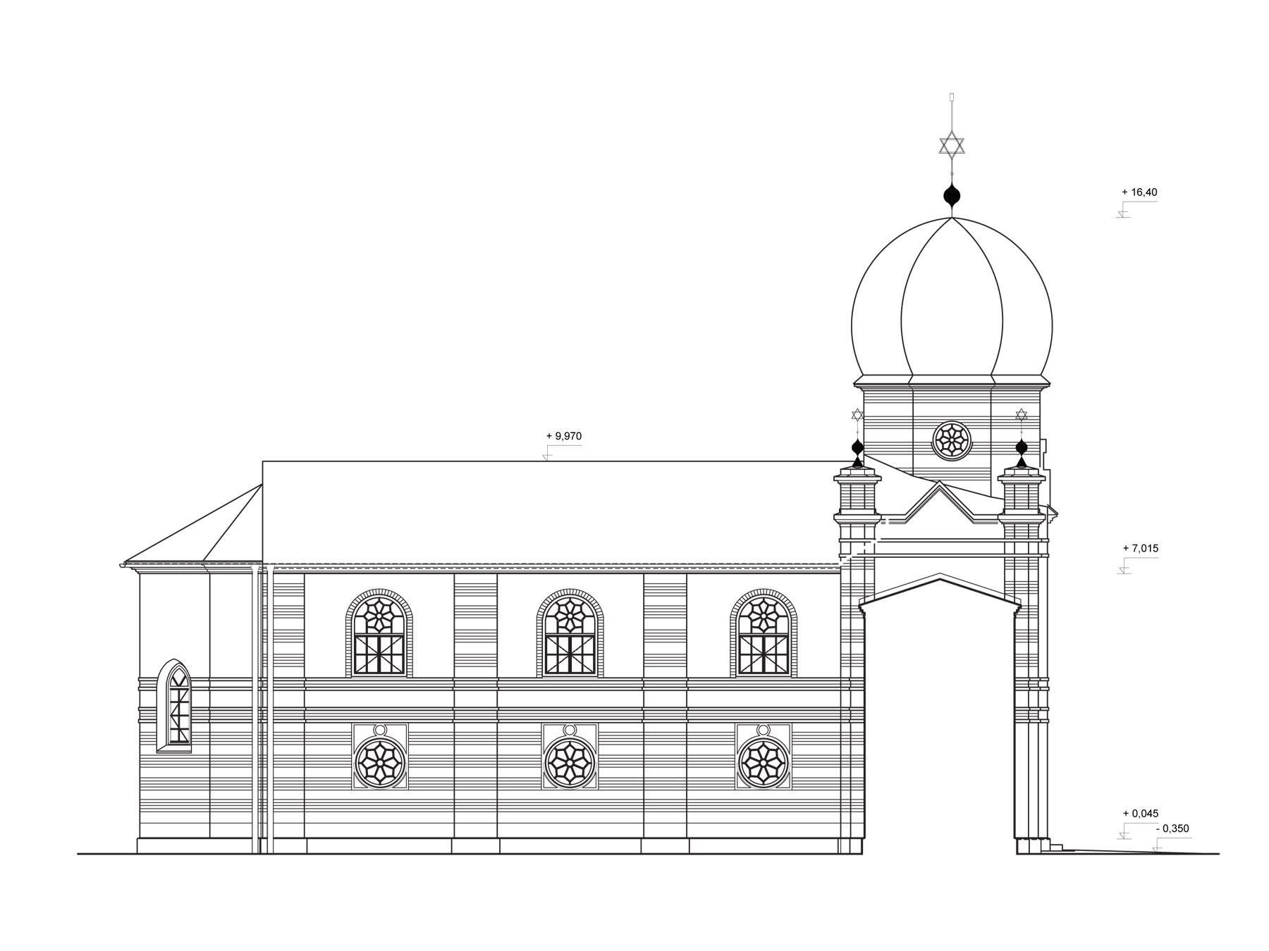 studia synagoga pohlad severny