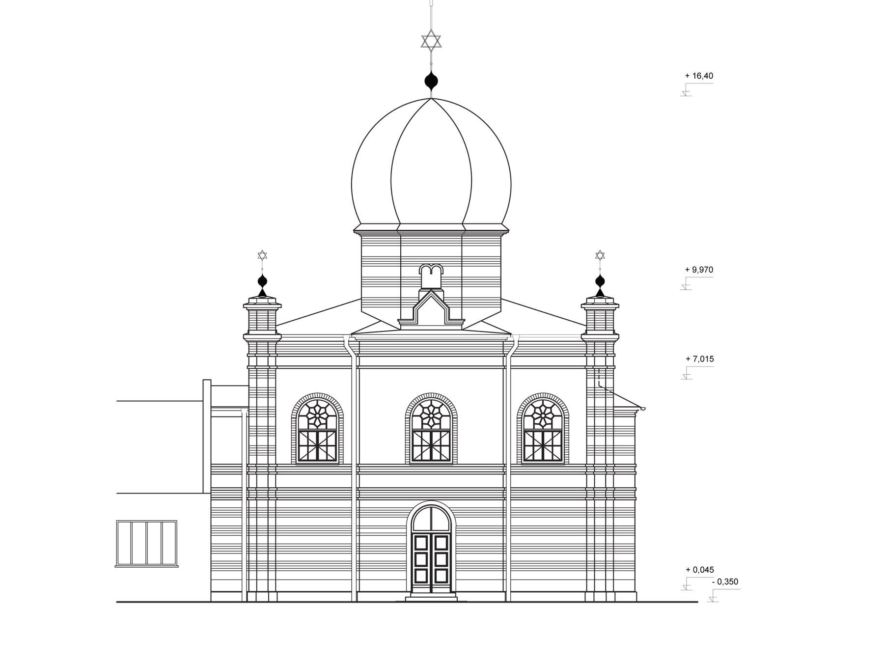 studia synagoga pohlad zapadny