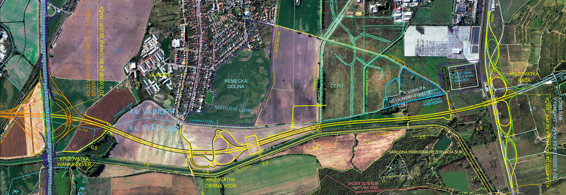 Obr 5 Dialnica D4  Bratislava  Ivanka sever   Raca 1
