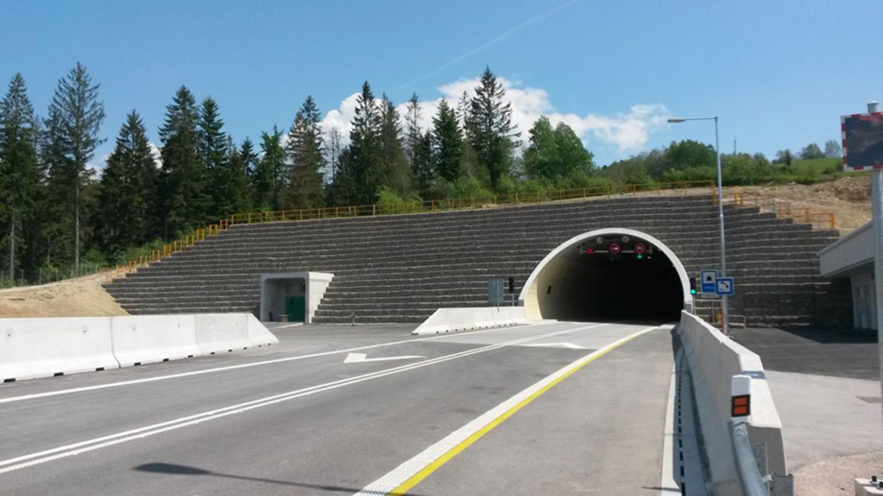 portal tunela D3