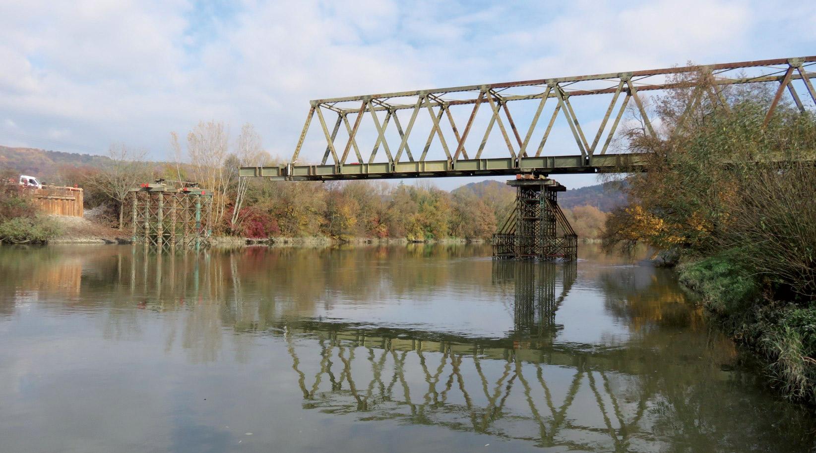 Obr 1 Mostne provizorium