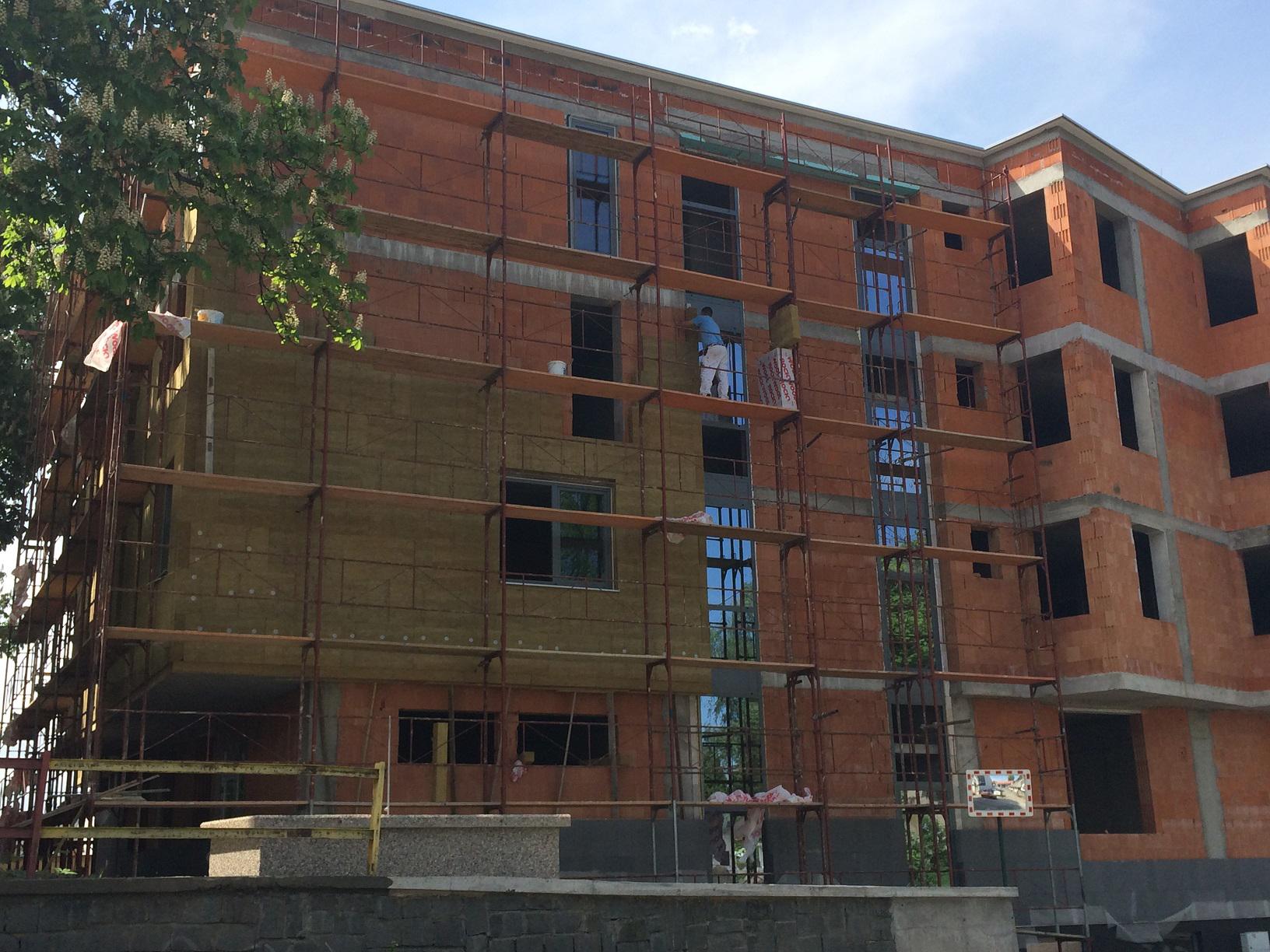 RW Fasada Ref stavba