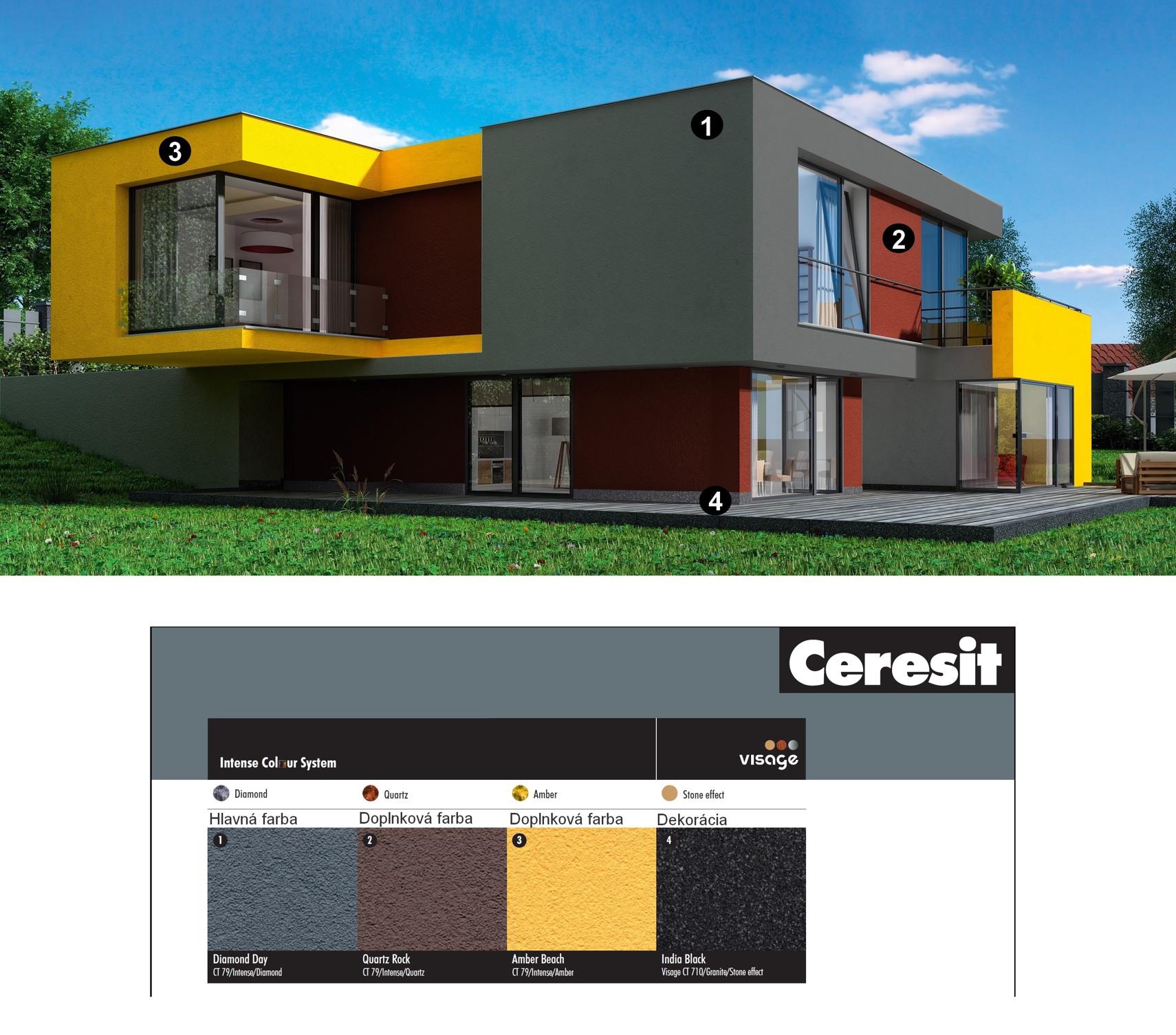 Dom Ceresit Visage a Intense1 detaily
