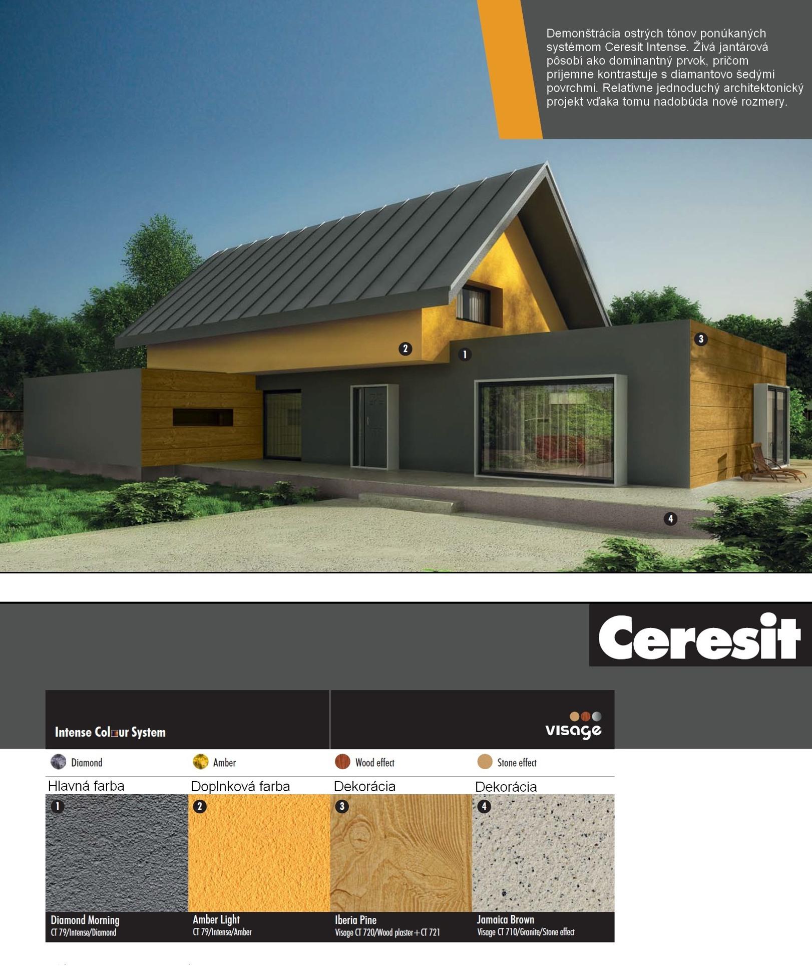Dom Ceresit Visage a Intense2 detaily