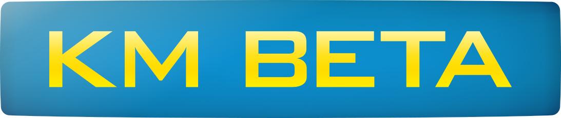 km beta logo