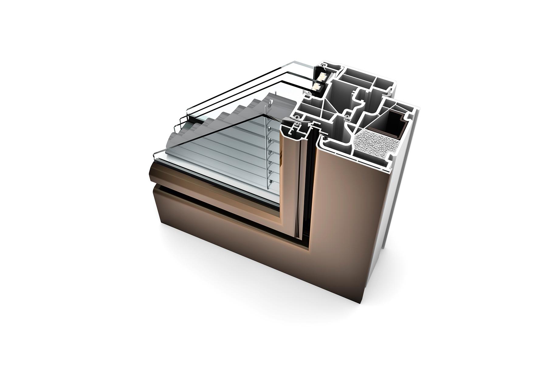 Internorm KV440 rez okna dizajnovy styl ambiente