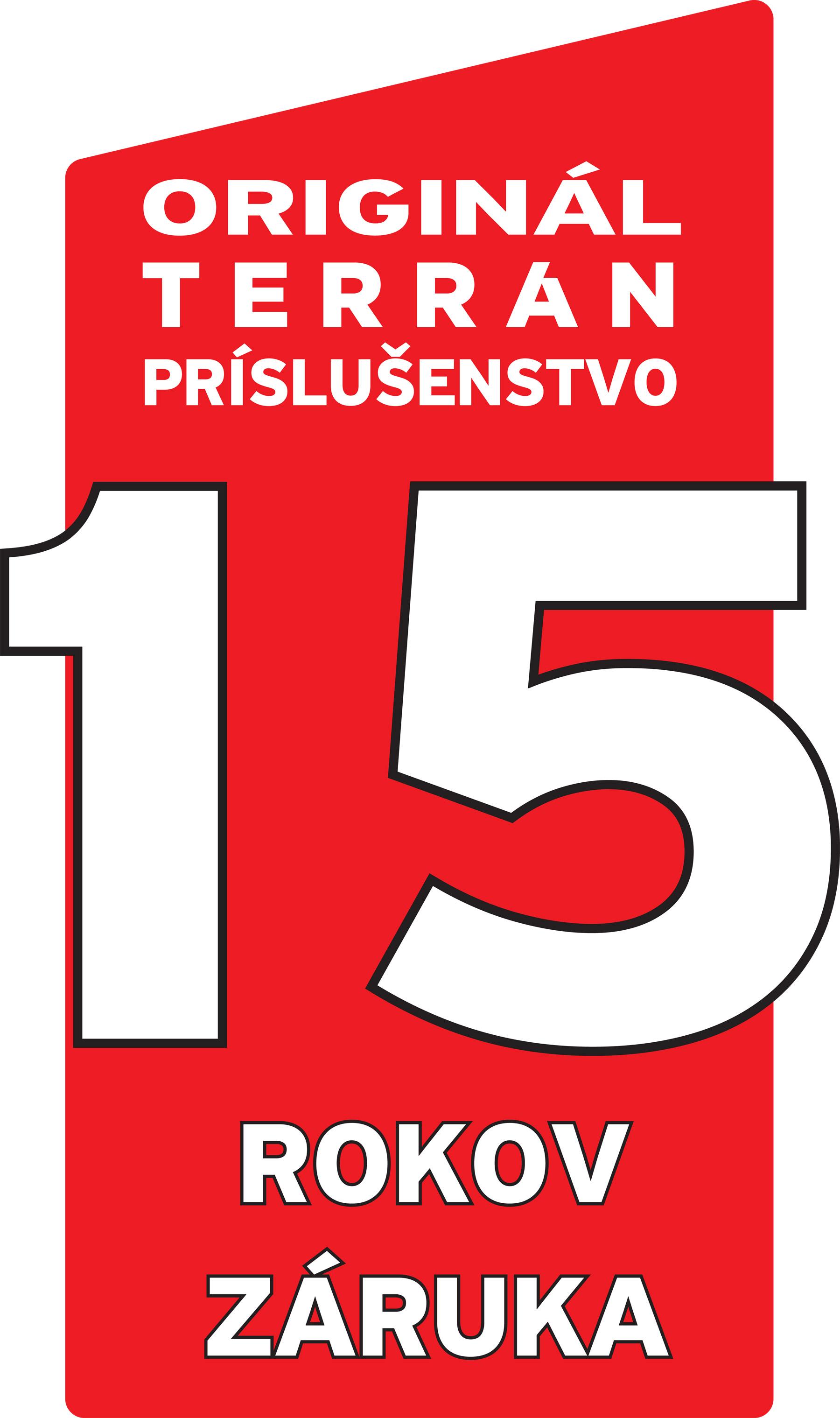 Terran logo zaruka 15rokov funkcnost