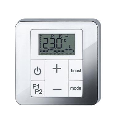Zehnder RAD control panel model 2 chrome Print 70422