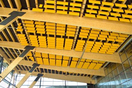 Akustické stropné podhľady