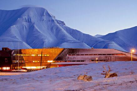 Architektúra pod snehom
