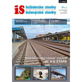 casopis inzinierske stavby inzenyrske stavby 1 2013 v predaji