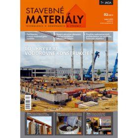 casopis stavebne materialy 2 2013 v predaji