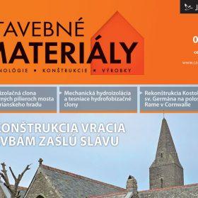 casopis stavebne materialy 6 2012 v predaji