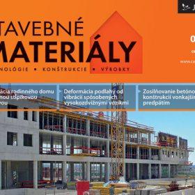 casopis stavebne materialy 7 2012 v predaji