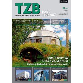 casopis tzb haustechnik 1 2013 je v predaji