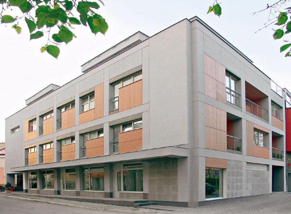 Cena Dušana Jurkoviča 2006 pre bytový dom Skelet v Žiline