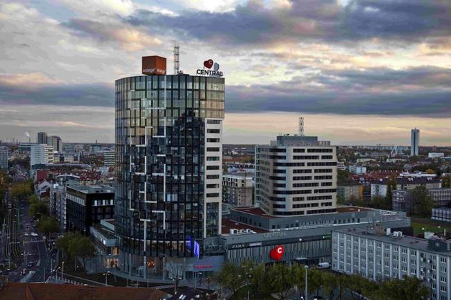 Polyfunkčný CENTRAL sa nachádza v intraviláne mesta Bratislava 1729d63e32b