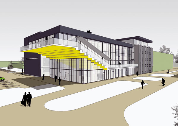 Divadlo, nákupné centrum, kaviareň – aj to je dnes knižnica