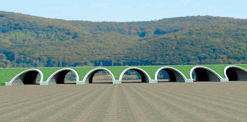 efektivne riesenie premostenia vazskeho kanala a koryta rieky vah