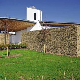 gabionovy fasadny obklad zaujimava alternativa