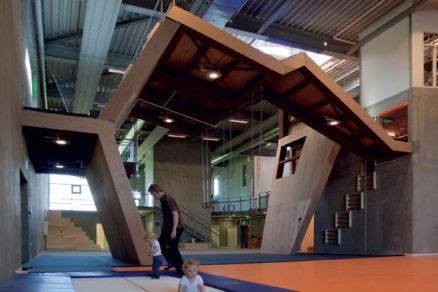 Hala pre gymnastiku a rozvoj vdánskom Århuse