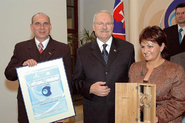 HERMAN Slovakia získala Národnú cenu SR za kvalitu