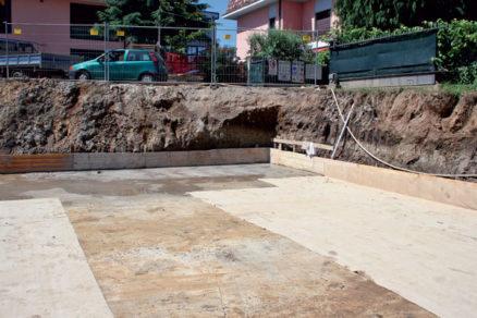 hydroizolacia betonovych konstrukcii pod urovnou terenu bentonitovou tkaninou