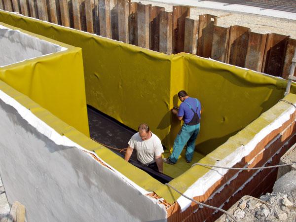 Hydroizolácia spodnej stavby