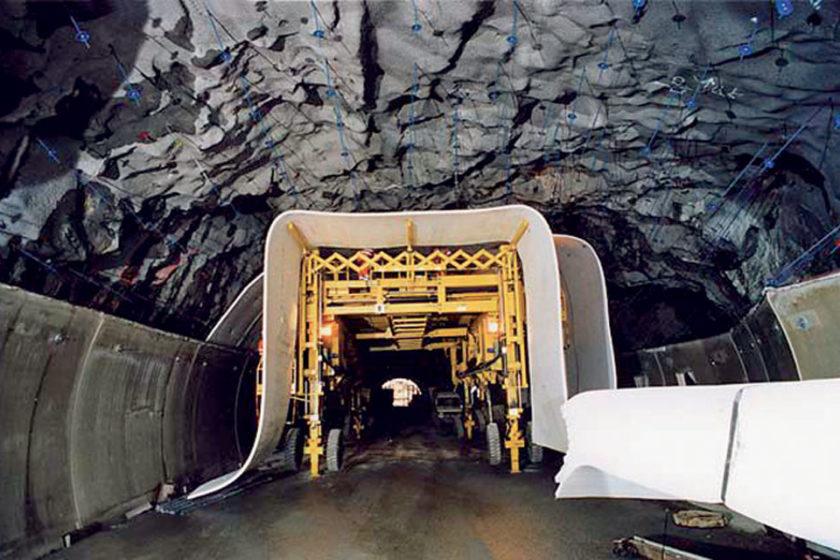 hydroizolacia tunelov v skandinavii