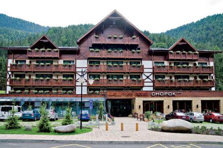 Hydroizolácie vo Wellness Hoteli Chopok