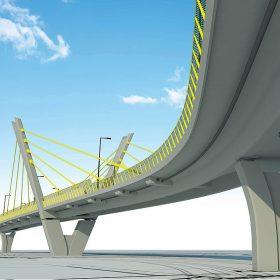 Nový cestný nadjazd na Ulici 1. mája v Žiline